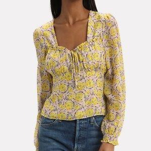 Intermix floral shirt size 8
